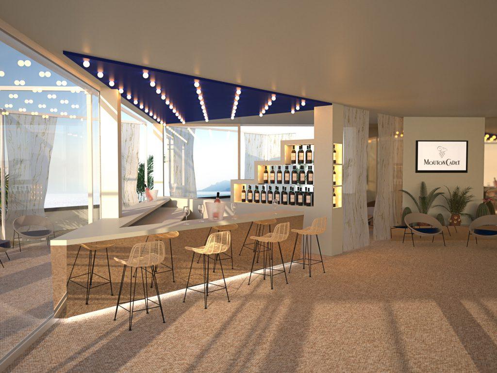 Mouton Cadet Wine Bar : le lieu le plus inspiré du Festival de Cannes