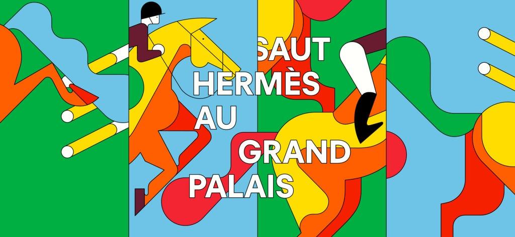 Saut Hermès au Grand Palais