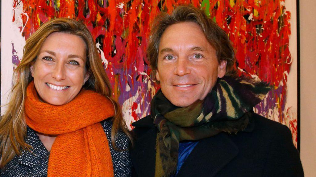 Anne-Claire Coudray et son mari Nicolas vix