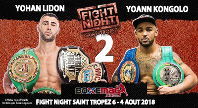 FIGHT NIGHT SAINT TROPEZ