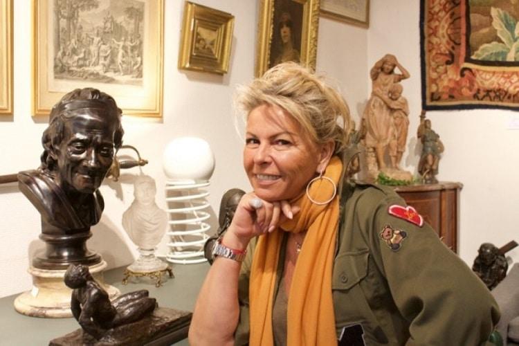 Caroline Margeridon et son compagnon