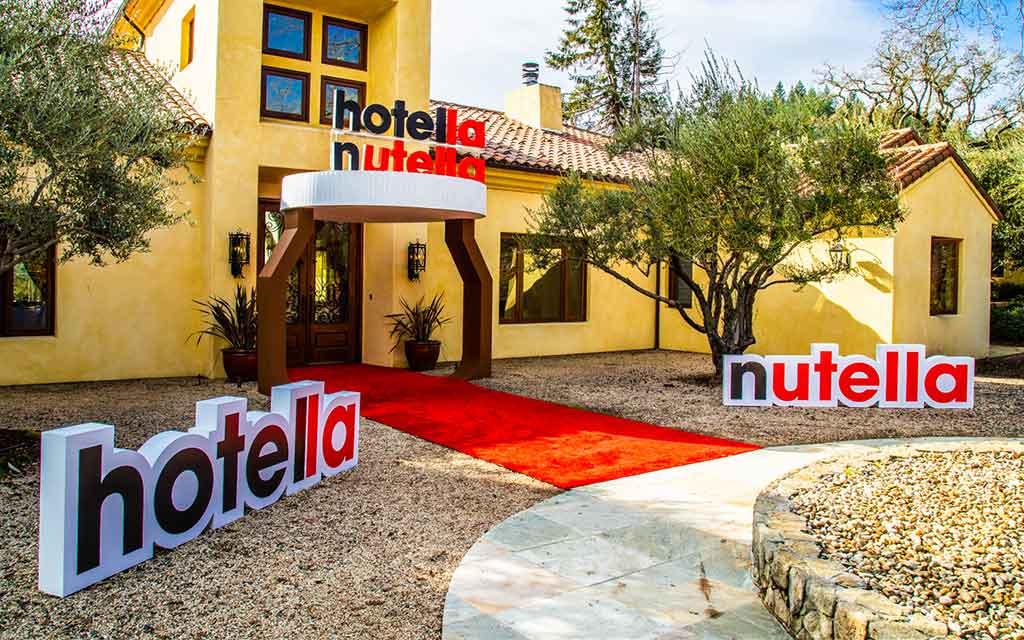 Un «pop-up hôtel» Nutella va ouvrir ses portes en Californie