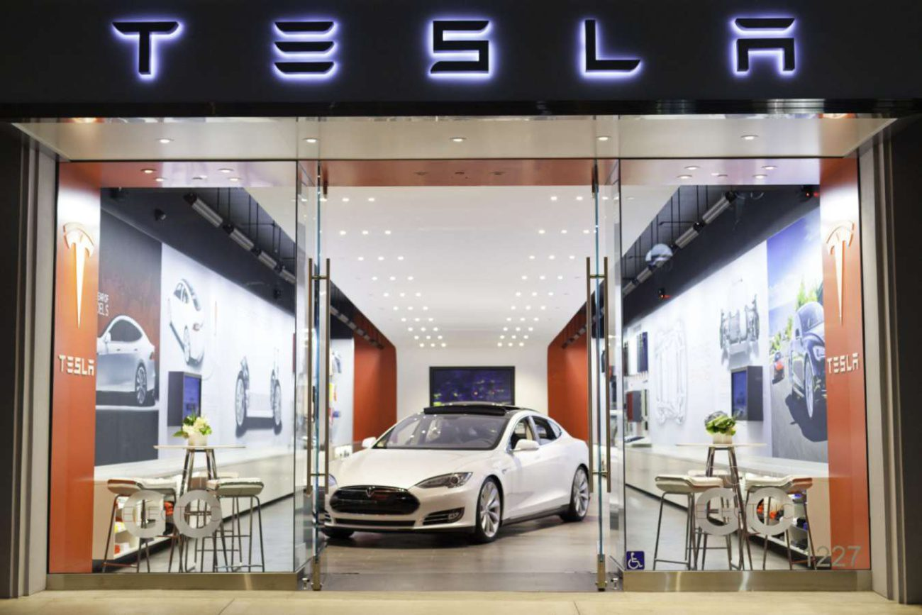 BOUTIQUE TESLA PARIS MADELEINE
