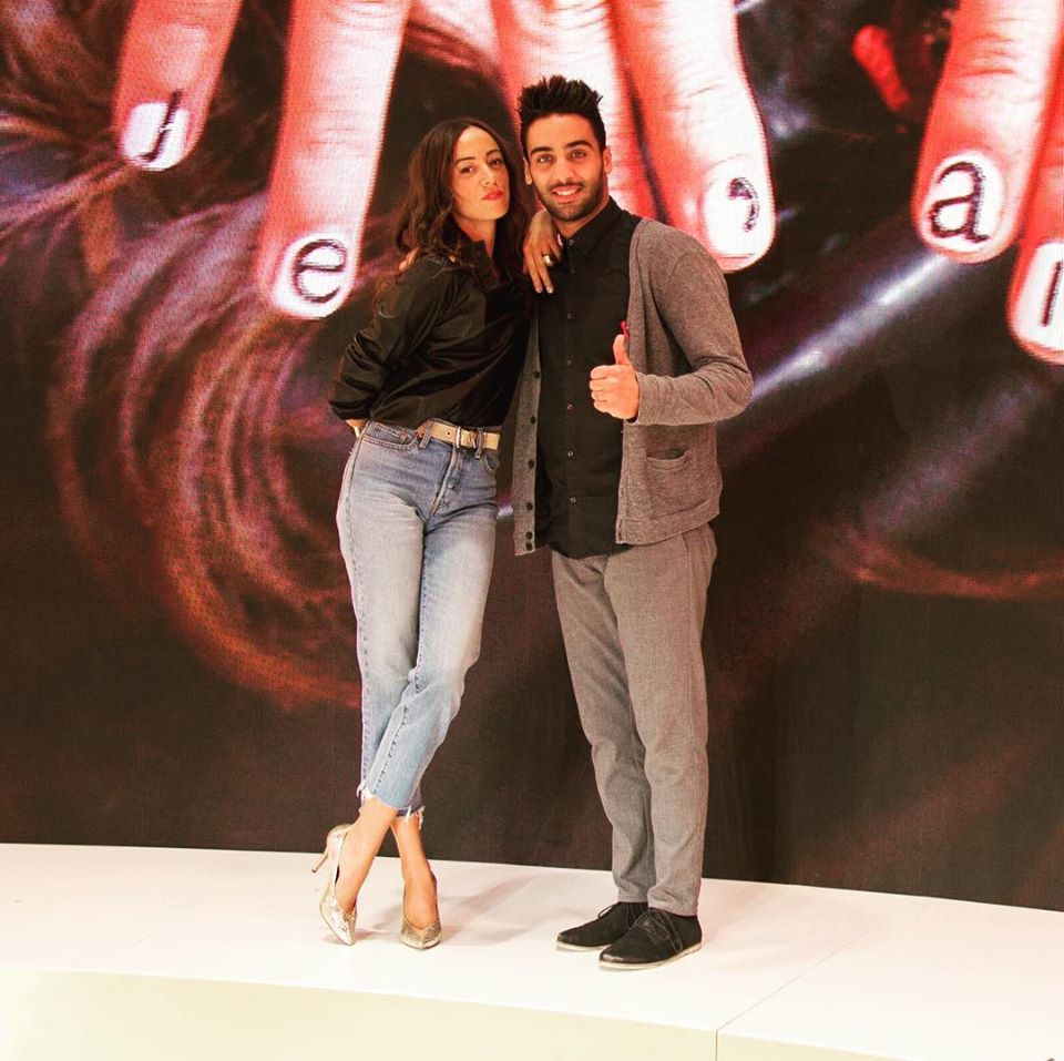Janane Boudili et son compagnon