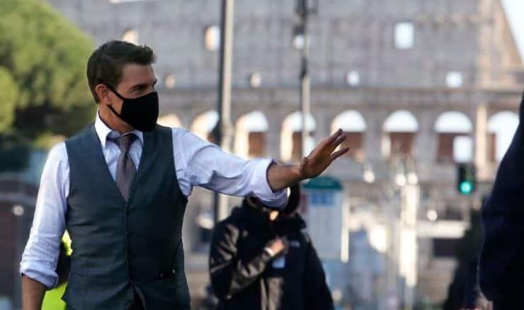 """Tom Cruise fou de rage sur le tournage de """"Mission Impossible 7"""""""