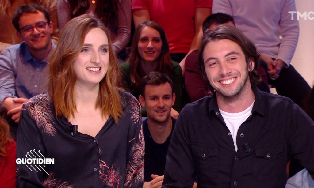 Étienne carbonnier et sa femme