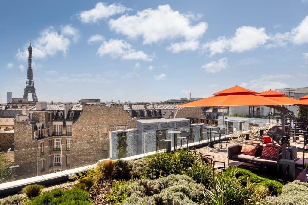 Le Canopy Hilton et son rooftop vient de naitre à Paris!