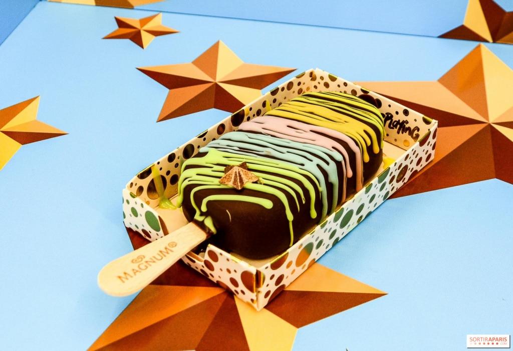 Magnum pleasure store au Marais pour des glaces personnalisables