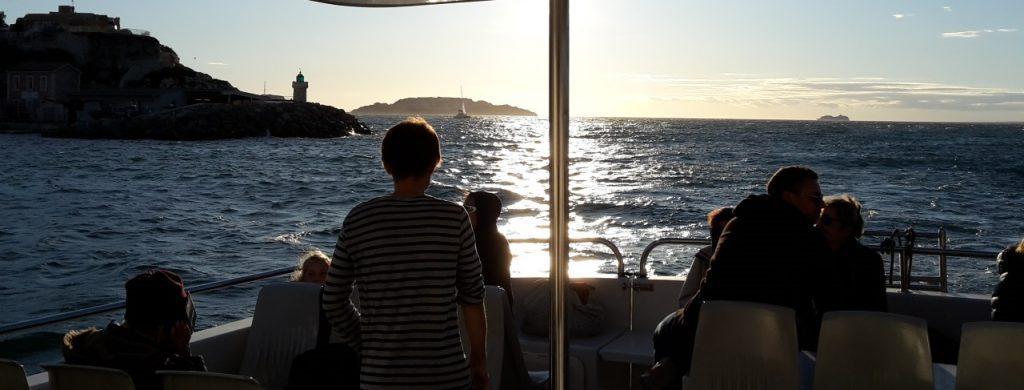 La visite de la région PACA en bateau
