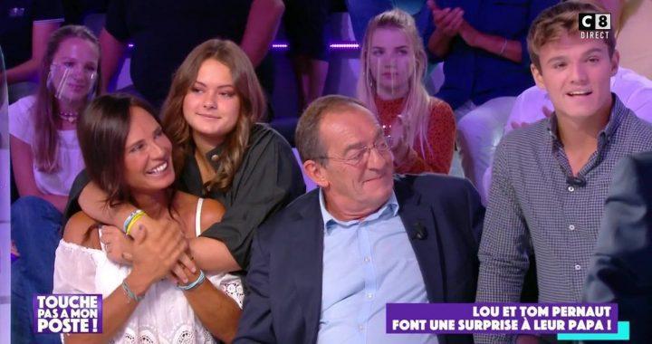 Lou Pernaut et son compagnon