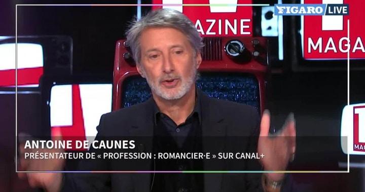 Antoine de Caunes et sa femme