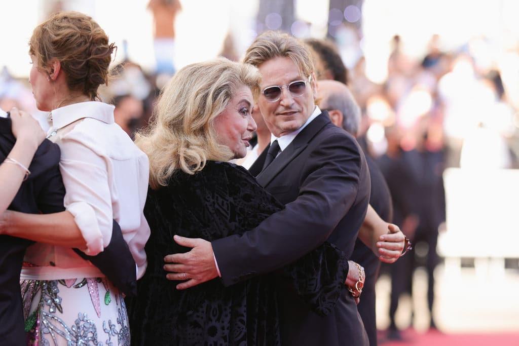 Igor Vadim et sa femme