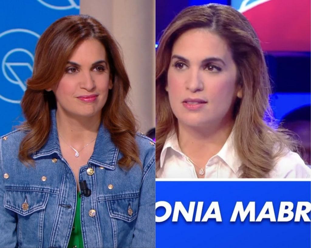 Sonia Mabrouk et son compagnon d'émission