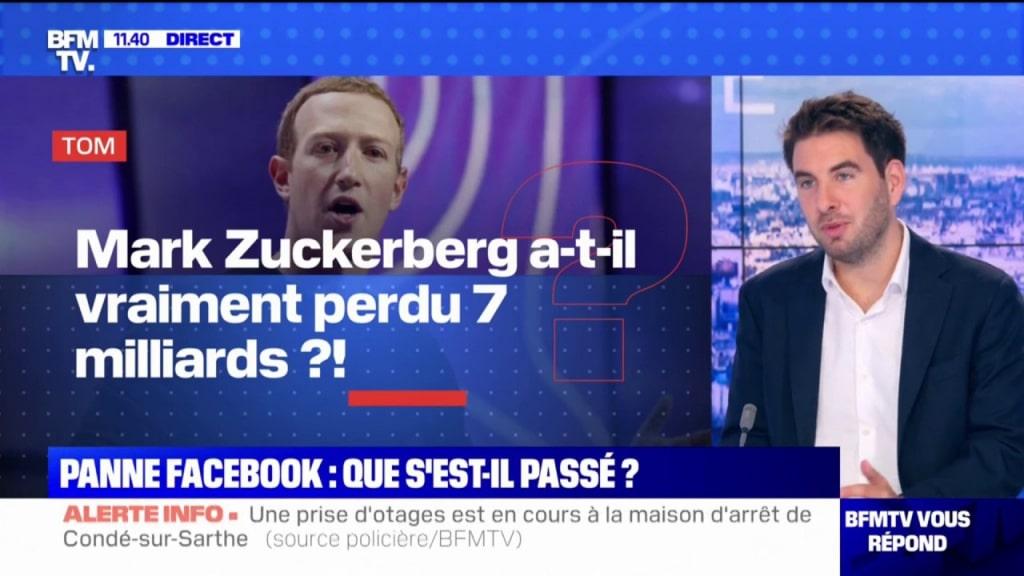 Panne de Facebook